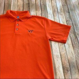 NCAA men's Virginia Tech polo shirt